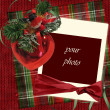 Vintage christmas card — Stockfoto #1265293