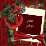Vintage christmas card — Stockfoto