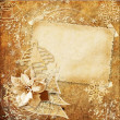 Foto de Stock  : Vintage christmas card