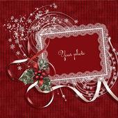 Christmas framework — Стоковое фото