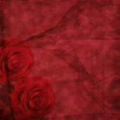 Vintage elegant background with rose — Stock Photo