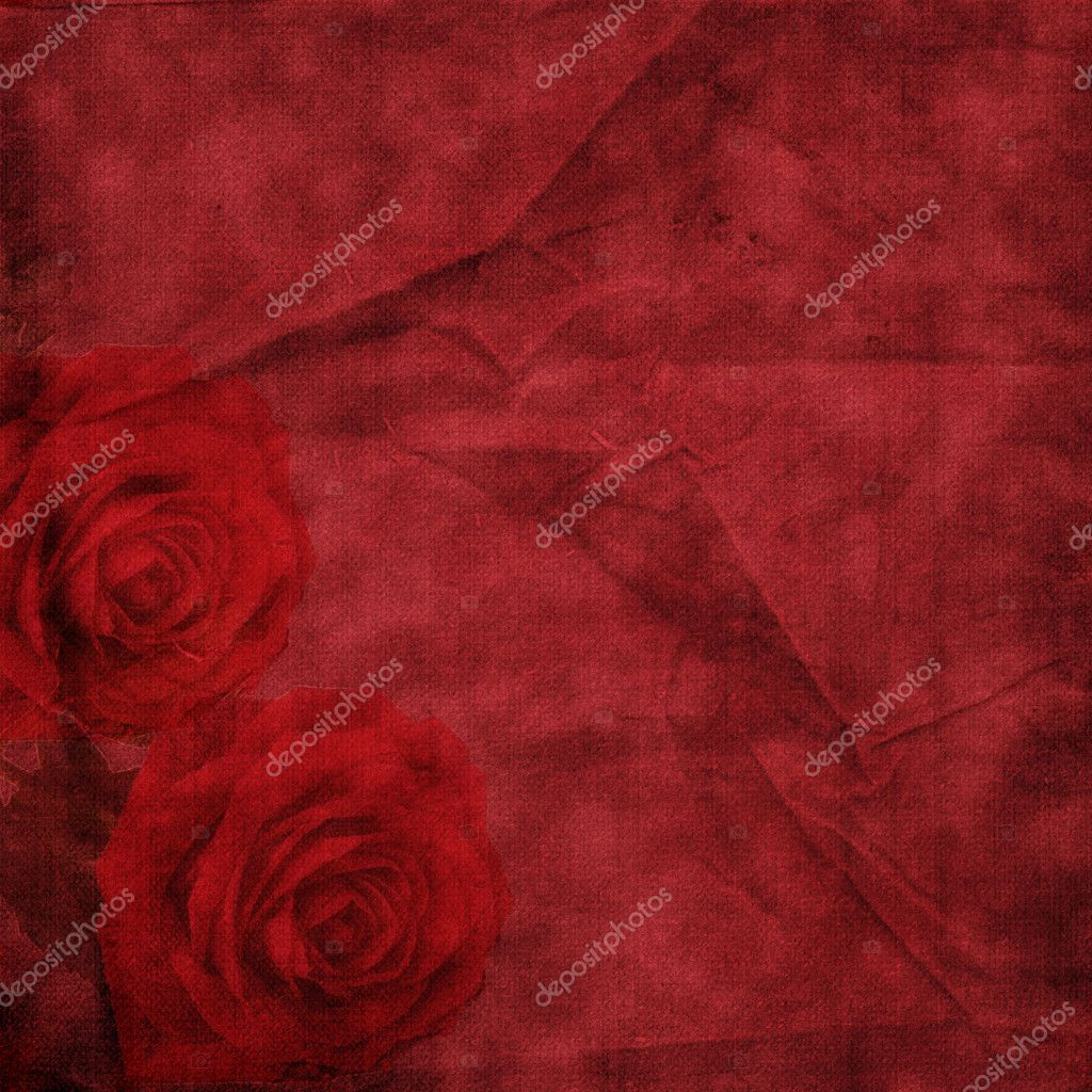 Vintage elegant background with rose — Stock Photo #1265642