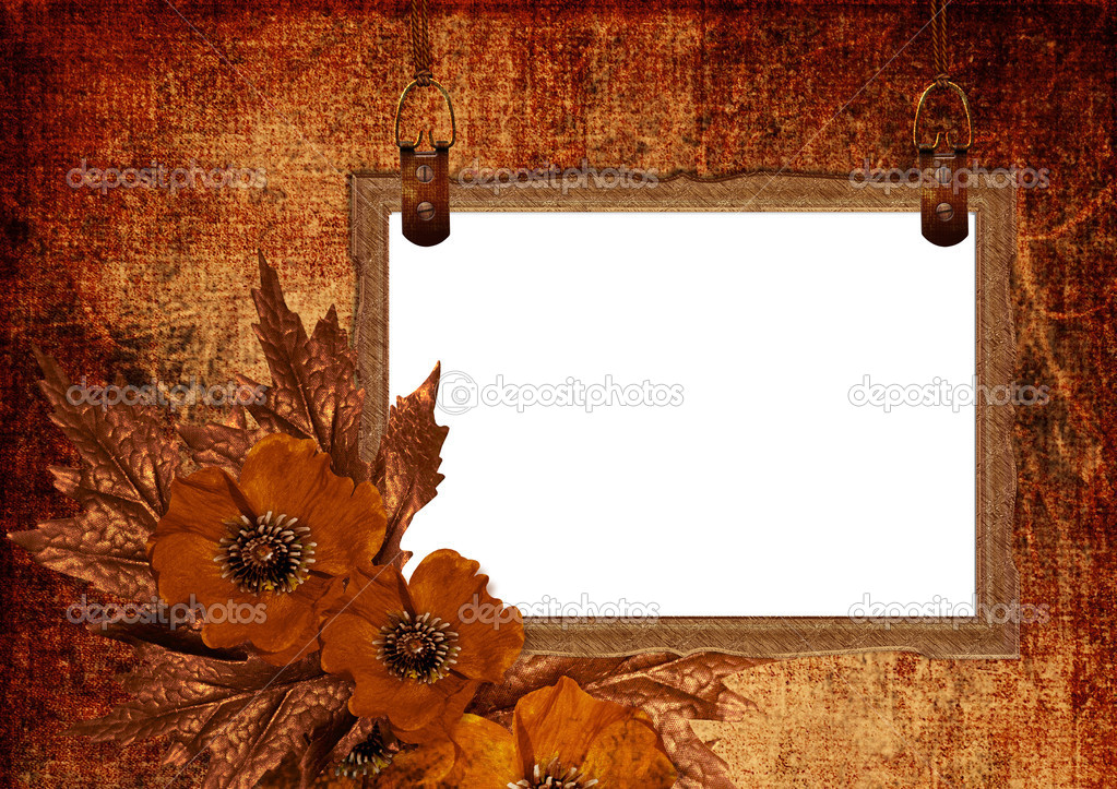 Vintage frame with space for a text and photo  — Stock Photo #1265816