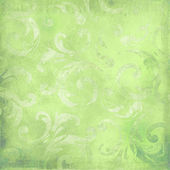 Green victorian background — Stock Photo