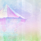 Abstract background with carousel — Stock Photo