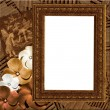 Stock Photo: Grungy frame
