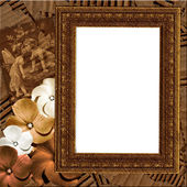 Grungy frame — Stock Photo