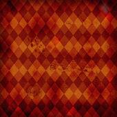 Retro background with rhombus — Stock Photo