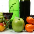 Wine and fruit — Stock Photo #1261984