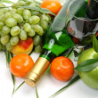 Stockfoto: Wine and fruit
