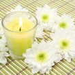 Candles and flowers — Stock Photo #1307718