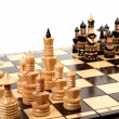 Wooden chess — Stock Photo #1316362