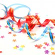 Stock Photo: Confetti and streamer