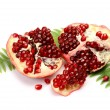 Ripe pomegranate — Foto de stock #1350340