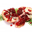 Ripe pomegranate — Stock Photo #1350340