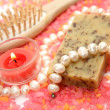 Sesalt and pearls — Stock Photo #1392513