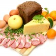 Stock Photo: Food stuffs