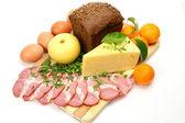 Potravinářske výrobky — Stock fotografie