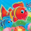 Stock Photo: Coral fishes