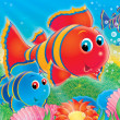 Coral fishes — Stock Photo