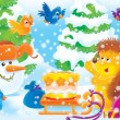 Winter holiday — Stock Photo #1945482
