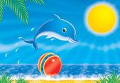 дельфин — Стоковое фото