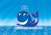 кит — Стоковое фото