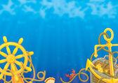 Morze tło — Zdjęcie stockowe