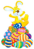イースターのウサギ — ストック写真