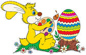 Easter Bunny — Stock vektor