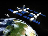 Space Station — Stock Photo