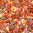 Royalty-Free Stock Photo: Fresh tastyi pizza in closeup
