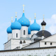 A church is in monastere. Russia - Stockfoto
