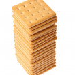 Pile of crackers — Stock Photo