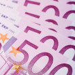 500 euro banknotes — Stock Photo #1225494