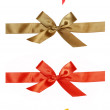 Ribbons of gift — Stock Photo