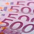 500 euro banknotes — Stock Photo #1228517