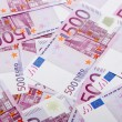 Stock Photo: 500 euro banknotes