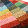 samples of color of a carpet covering — Stock Photo #1229354