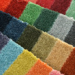 Samples of color of a carpet covering — Stock Photo #1229422