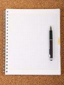 κενό σπιραλ σημειωματάριο — Φωτογραφία Αρχείου