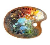 Artist's palette — Stock Photo