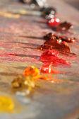カラフルなパレットのクローズ アップ — ストック写真
