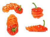 Red Bulgarian pepper — Stock Photo