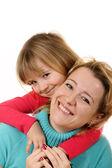 Feliz madre e hija — Foto de Stock