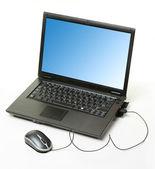 Modern laptop — Stock Photo