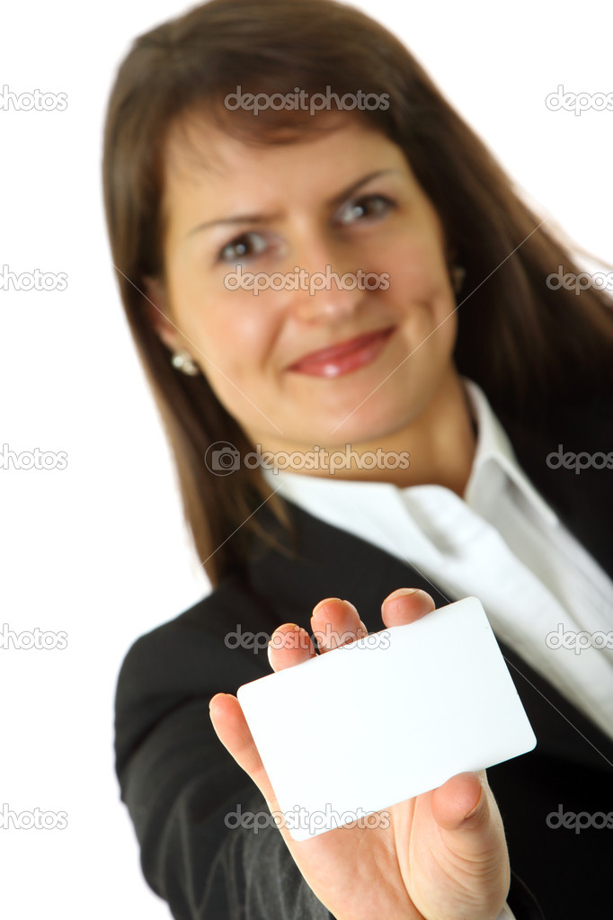 Close-up of professional business card  — Stock Photo #1225618