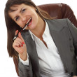 Successful young business woman — Stock Photo