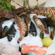 Stock Photo: Fresh seafoods