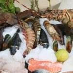 Свежие морепродукты — Стоковое фото